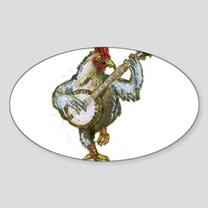 Banjo Chicken Sticker