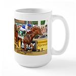 Large Horse Racing Mugs