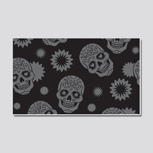 Sugar Skulls Car Magnet 20 x 12