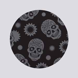 """Sugar Skulls 3.5"""" Button"""