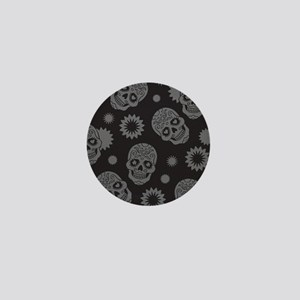 Sugar Skulls Mini Button