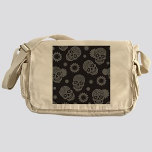 Sugar Skulls Messenger Bag