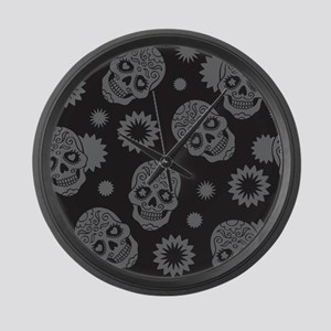 Sugar Skulls Large Wall Clock