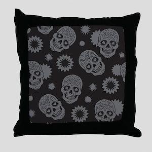 Sugar Skulls Throw Pillow