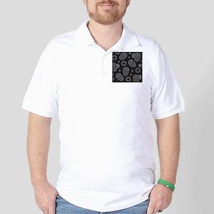 Sugar Skulls Golf Shirt