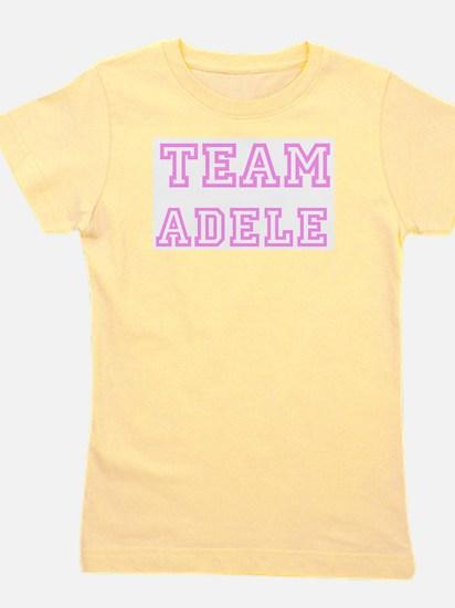 Pink team Adele Ash Grey T-Shirt