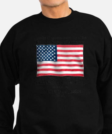 Pledge of Allegiance Sweatshirt