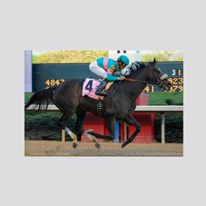 Horse Racing Rectangle Magnet Magnets