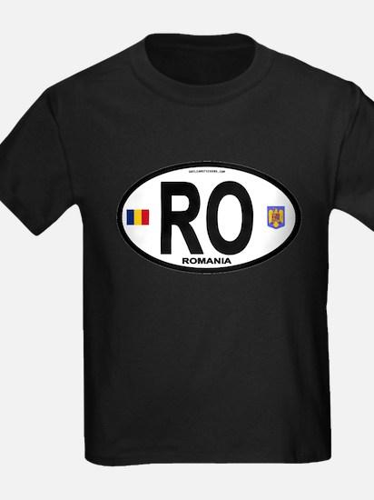 Romania Intl Oval T