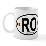 Romania Intl Oval Mug