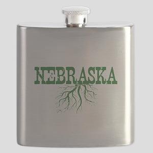 Nebraska Roots Flask