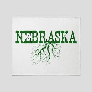 Nebraska Roots Throw Blanket