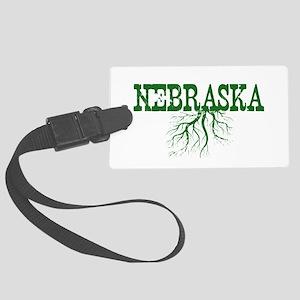Nebraska Roots Large Luggage Tag