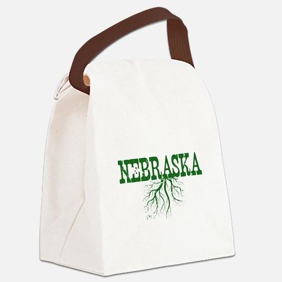 Nebraska Roots Canvas Lunch Bag