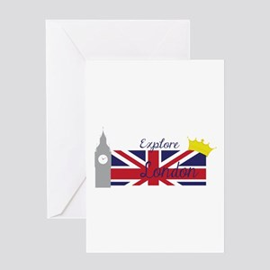Explore London Greeting Cards