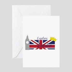 Explore London Greeting Cards