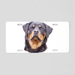 rottbitch1 Aluminum License Plate