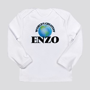 World's Greatest Enzo Long Sleeve T-Shirt