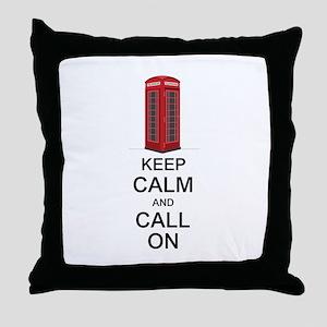Call On Throw Pillow