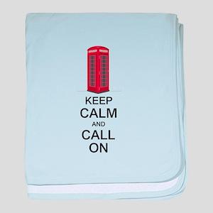 Call On baby blanket