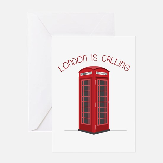 London is Calling Greeting Cards