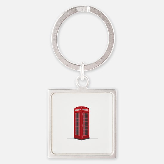 London Phone Booth Keychains