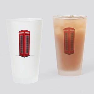 London Phone Booth Drinking Glass