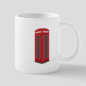 London Phone Booth Mugs