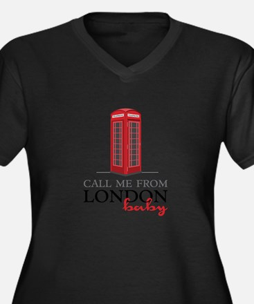 Call Me From London Plus Size T-Shirt