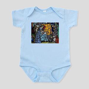 Stain Glass Nativity Body Suit
