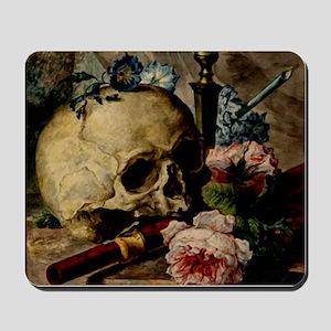Vintage Skull Mousepad