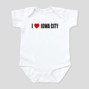 I Love Iowa City Infant Bodysuit