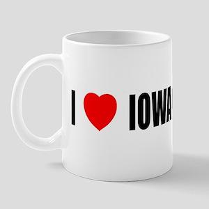 I Love Iowa City Mug