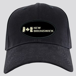 Canadian Flag: New Brunswick Black Cap with Patch