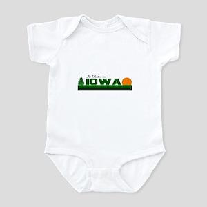 Its Better in Iowa Infant Bodysuit