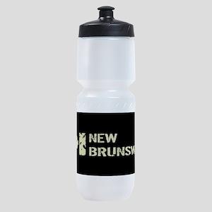 Canadian Flag: New Brunswick Sports Bottle