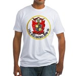USS BUCHANAN Fitted T-Shirt