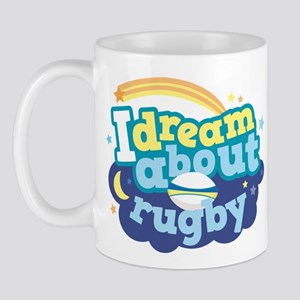 I Dream About Rugby Mug