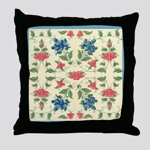 Absolutely beautiful Vintage Flora Design Throw Pi