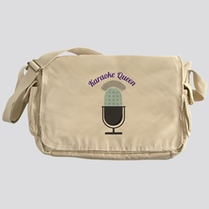 Karoke Queen Messenger Bag