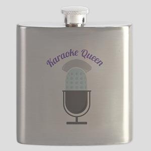 Karoke Queen Flask
