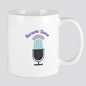 Karoke Queen Mugs