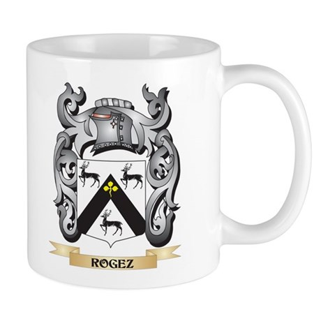 Rogez Coat of Arms - Family Crest Mugs