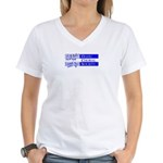 Oahu Choral Society Women's V-Neck T-Shirt