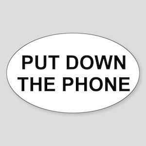 2000x600putdownthephone Sticker