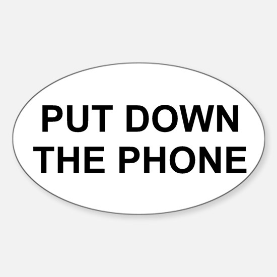 2000x600putdownthephone Decal