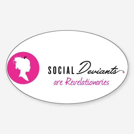 Social Deviants are Revelationaries Decal