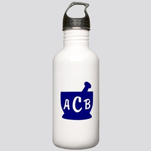 Blue Monogram Mortar a Stainless Water Bottle 1.0L
