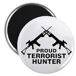 Proud Terrorist Hunter Magnet
