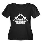 Proud Terrorist Hunter Women's Plus Size Scoop Nec